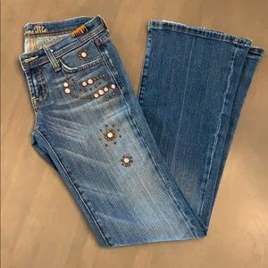 Miss Me Boot Cut Flare Jeans 26
